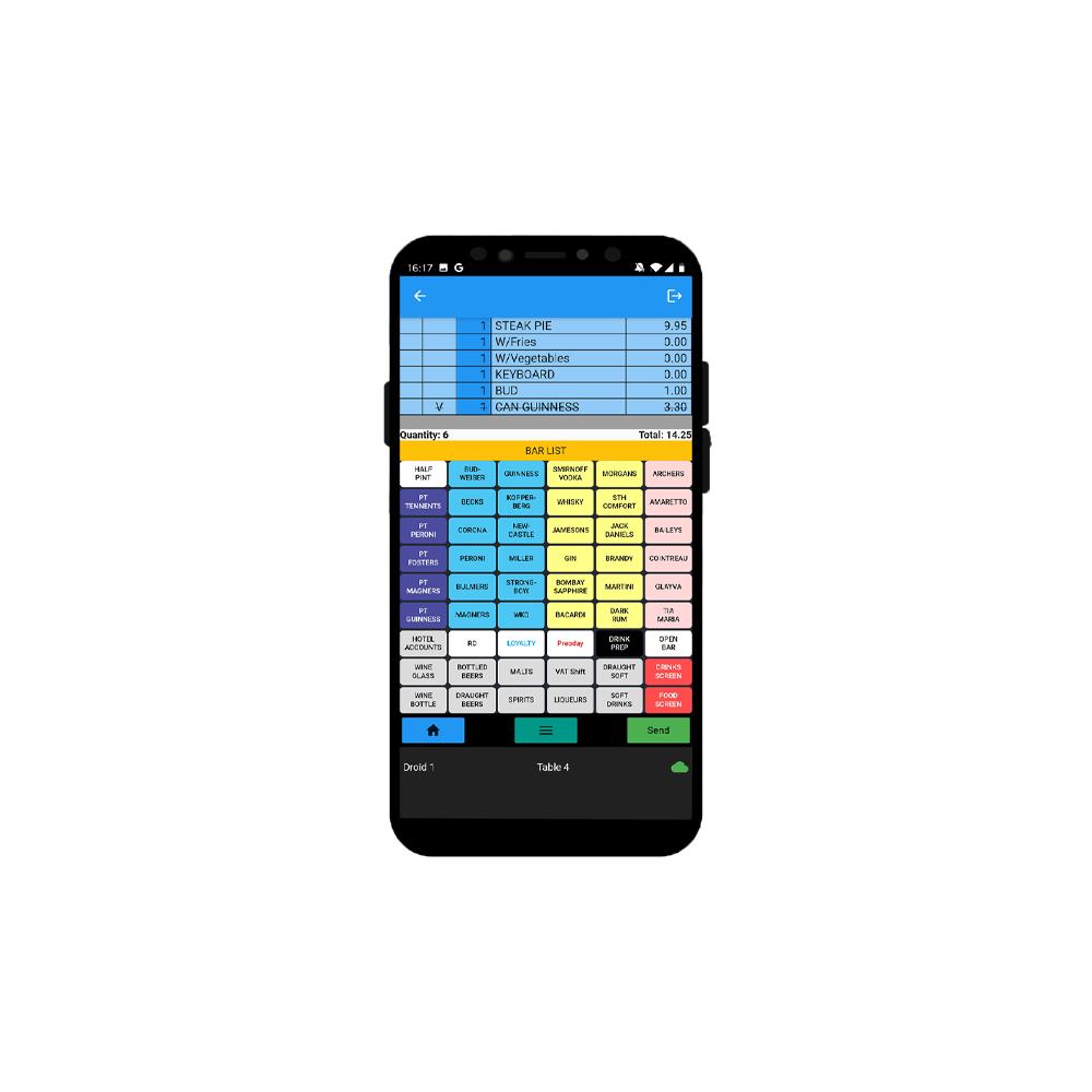 Spos Handheld device